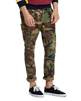 Polo Ralph Lauren - Camouflage-Print Slim Fit Cargo Pants
