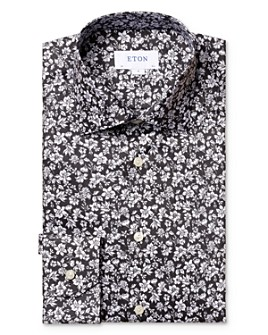 Eton - Floral Slim Fit Dress Shirt