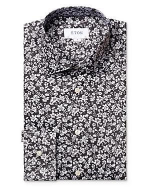 Eton Floral Slim Fit Dress Shirt