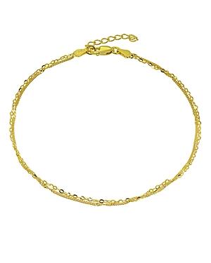 Double Chain Ankle Bracelet