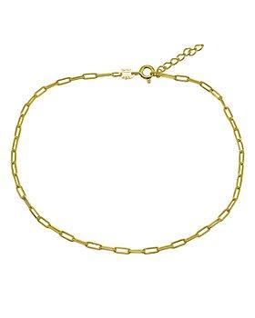 AQUA - Paper Clip Chain Ankle Bracelet - 100% Exclusive