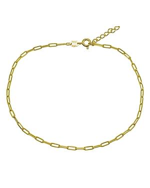 Paper Clip Chain Ankle Bracelet