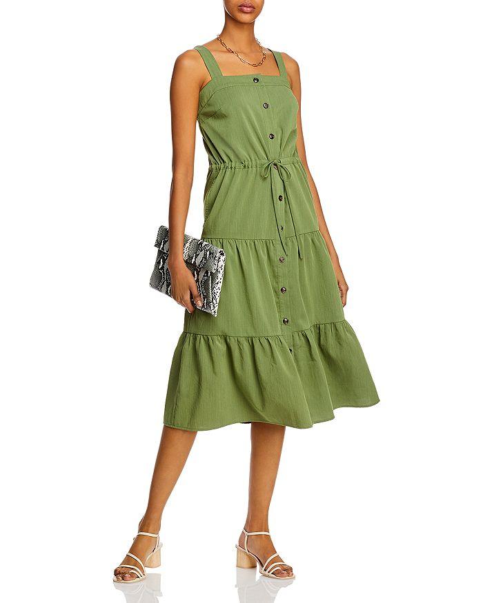 AQUA - Tiered Midi Dress - 100% Exclusive