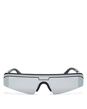 Balenciaga - Unisex Rimless Rectangle Sunglasses, 99mm