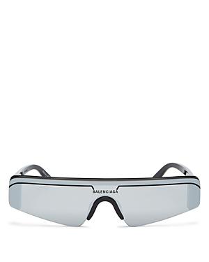Balenciaga Unisex Rimless Rectangle Sunglasses, 99mm-Jewelry & Accessories