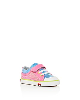 See Kai Run - Girls' Kristin Rainbow Sequin Low-Top Sneakers - Baby, Walker, Toddler