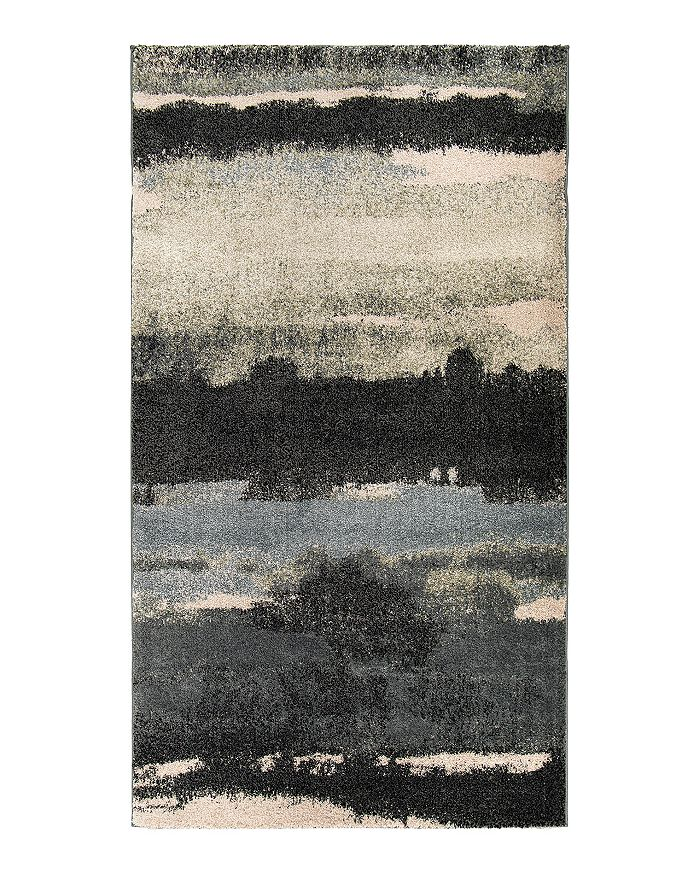 Palmetto Living Mystical Canyon Area Rug, 7'10 X 10'10 In Muted Blue
