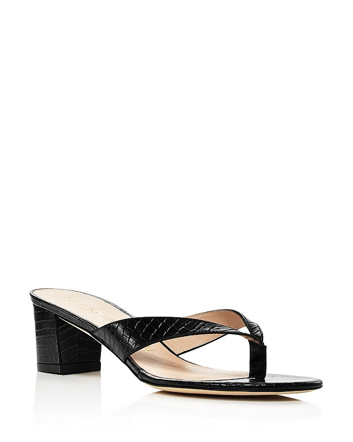 Stuart Weitzman - Women's Brigida 50 Slip On Thong Sandals