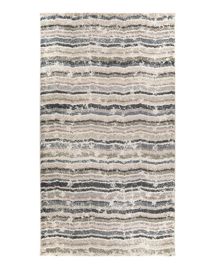 Palmetto Living Mystical Interstellar Area Rug, 6'7 X 9'6 In Muted Blue