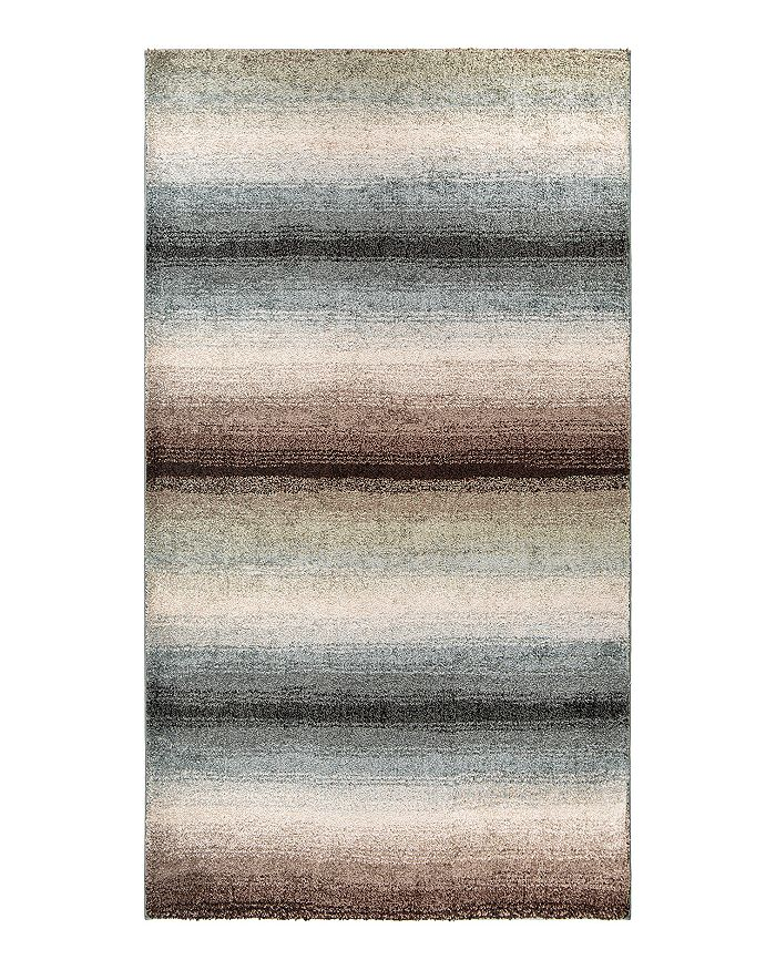 Palmetto Living Mystical Skyline Area Rug, 6'7 X 9'6 In Muted Blue