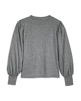 AQUA - Girls' Puff-Sleeve Sweater, Big Kid - 100% Exclusive