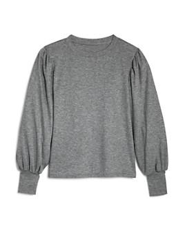 AQUA - Girls' Puff-Sleeve Sweater, Big Kid - 100% Exclusive