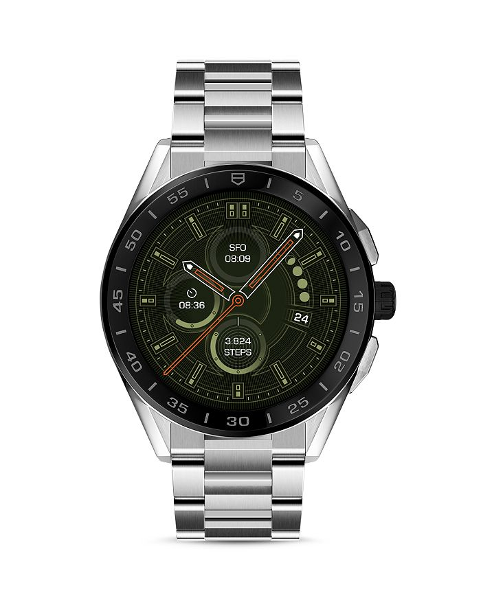 TAG Heuer - Modular Connected Stainless Steel Bracelet Smartwatch, 45mm