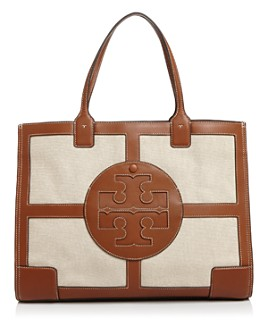 Tory Burch - Ella Large Canvas Quadrant Tote
