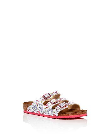 Birkenstock - Girls' Florida Unicorn Slide Sandals - Toddler, Little Kid