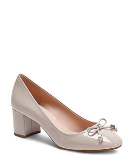 kate spade new york - Women's Bev Bow Mid-Heel Pumps