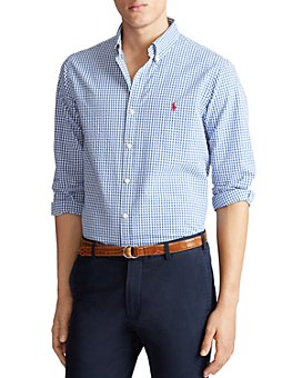 Polo Ralph Lauren - Cotton Check Seersucker Classic Fit Button-Down Shirt
