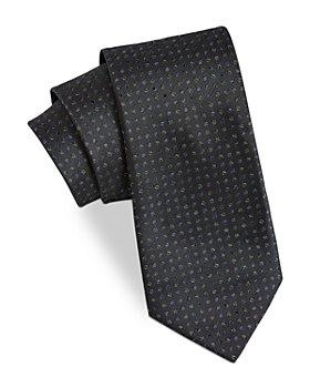 John Varvatos Star USA - Filmore Square-Dot Silk Classic Tie