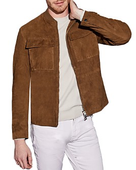 BOSS - Afel Suede Jacket - 100% Exclusive