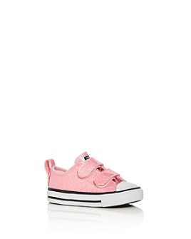 Converse - Girls' Chuck Taylor All Star Glitter Low-Top Sneakers - Walker, Toddler