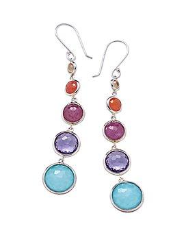IPPOLITA - Sterling Silver Lollipop® Lollitini Multi-Gemstone Drop Earrings