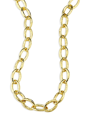 Ippolita 18K Yellow Gold Hammered Bastille Link Chain Necklace, 18-Jewelry & Accessories