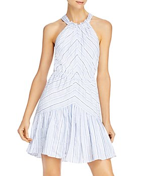 Rebecca Taylor - Striped Cotton & Linen Dress