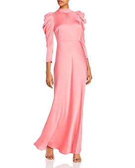 Notes du Nord - Olena Silk-Blend Maxi Dress