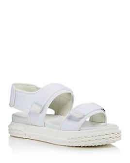 Giuseppe Zanotti - Women's Blabber Grip-Tape Strap Sport Sandals