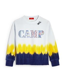 Butter - Girls' Dip-Dyed Camp Sweatshirt - Big Kid