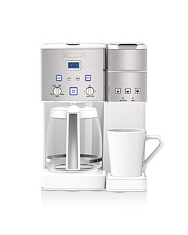 Cuisinart - Coffee Center 12-Cup Coffeemaker & Single-Serve Brewer