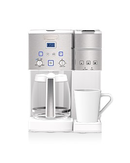 Cuisinart - Coffee Center 12-Cup Coffeemaker & Single-Serve Brewer