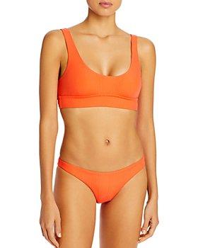 Vitamin A - Sienna Scoop-Neck Bikini Top & Luciana Bikini Bottom