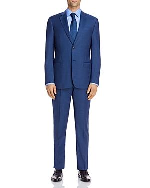 Micro-Check Regular Fit Suit