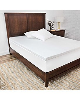 SensorPEDIC - 2-Inch Majestic Ventilated Memory Foam Mattress Toppers