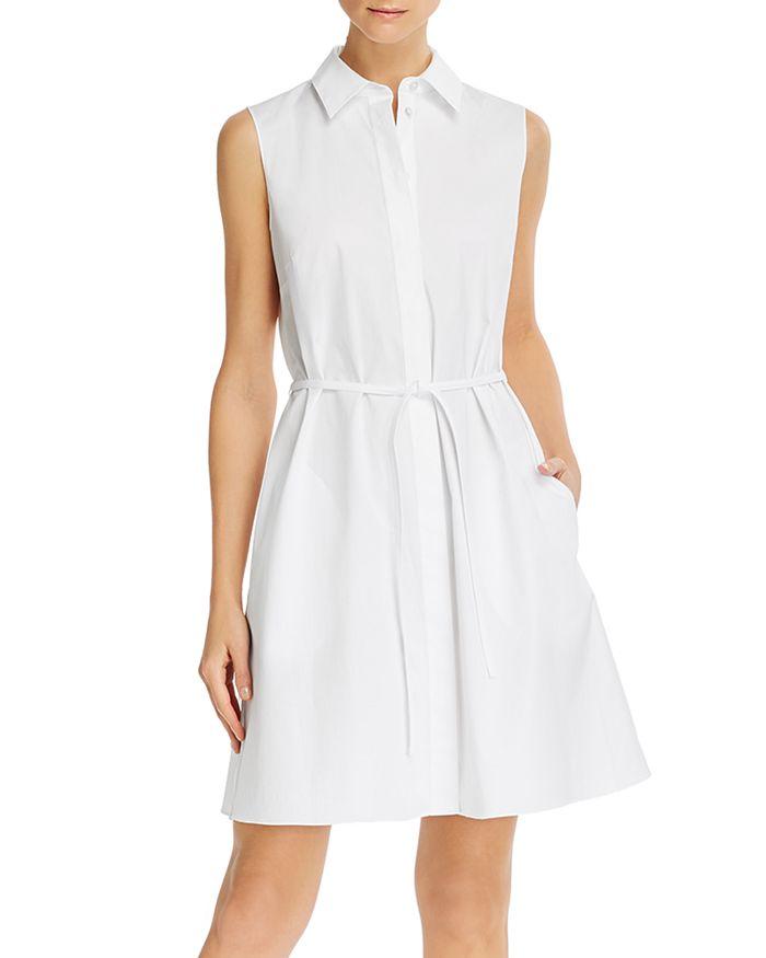 Theory - Belted Shirt Dress