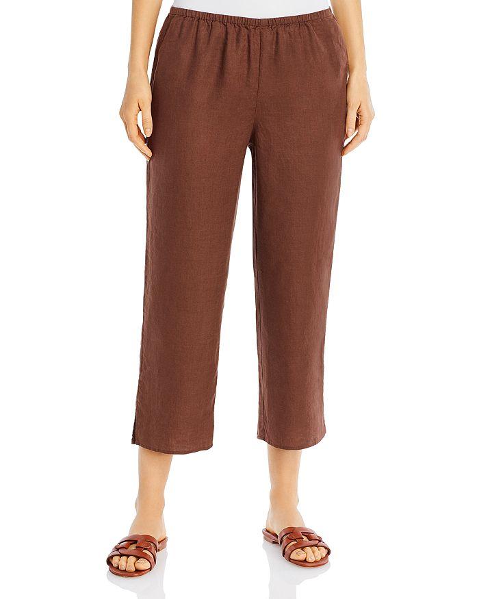 Eileen Fisher - Organic Linen Cropped Pants