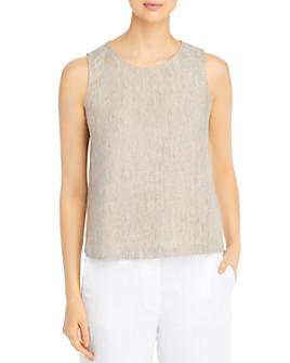 Eileen Fisher Petites - Organic Linen Sleeveless Top