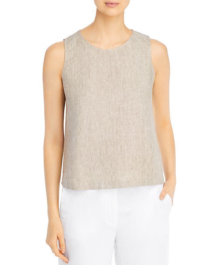 Eileen Fisher - Organic Linen Sleeveless Top
