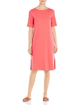 Eileen Fisher - Round Neck T-Shirt Dress