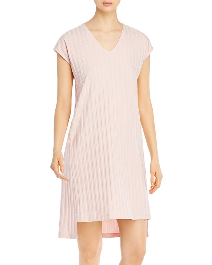 Eileen Fisher - Ribbed V-Neck Dress