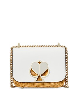 kate spade new york - Nicola Wicker Twist-Lock Small Convertible Chain Shoulder Bag