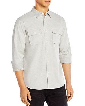 FRAME - Bedford Cotton Double Pocket Slim Fit Shirt