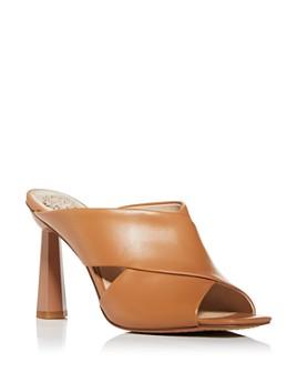 VINCE CAMUTO - Women's Averessa Crisscross High-Heel Sandals