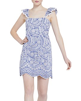 Alice and Olivia - Honor Cotton Mini Dress