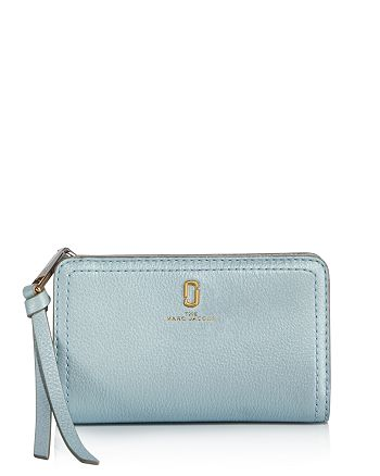 MARC JACOBS - Softshot Compact Leather Wallet