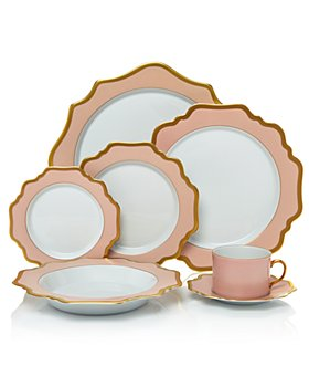 Anna Weatherley - Anna's Palette Dusty Rose Dinnerware Collection