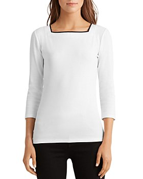 Ralph Lauren - Square-Neck Top