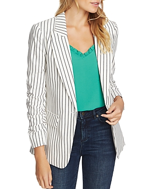 Image of 1.state Cotton Striped Blazer