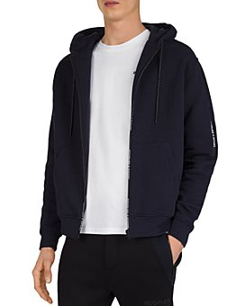 The Kooples - Fleece & Badge Hoodie